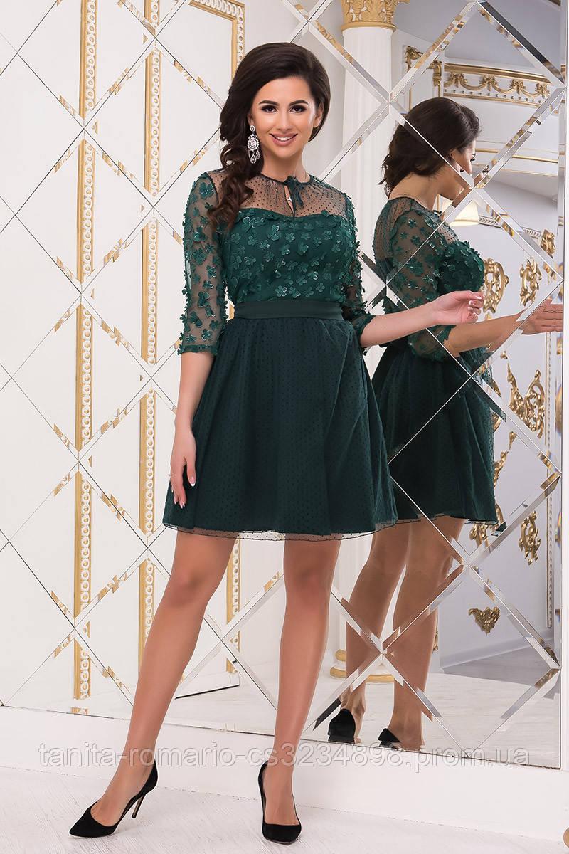 Коктейльное платье 8248e Бутылка  S M L