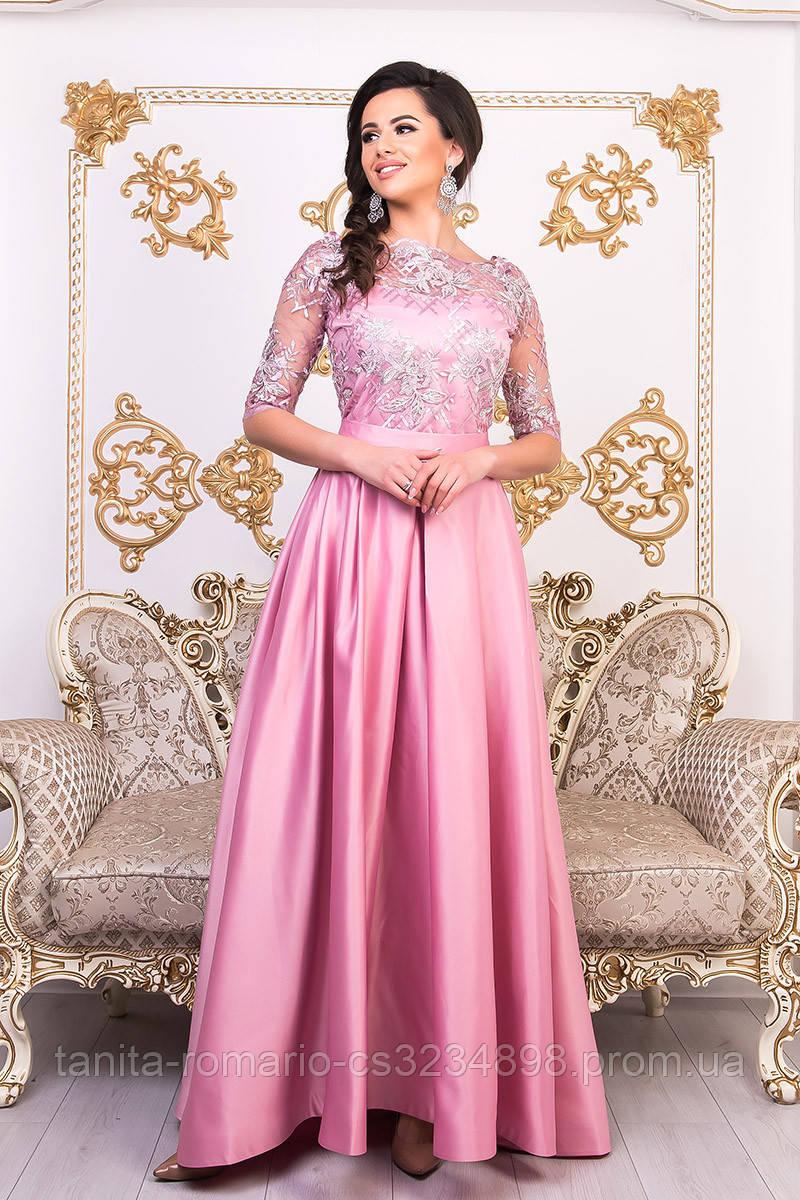 Вечернее платье 9001e Фрезовый M(р)
