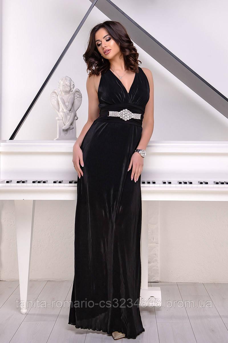 Вечернее платье 1198e Чёрный  S M L