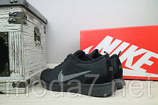 Кроссовки мужские Classica G 5049 -5 черные (текстиль, весна/осень), фото 3