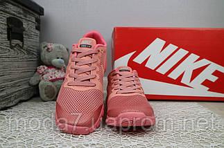 Кроссовки женские Classica G 7385 -3 розовые (текстиль, лето), фото 3