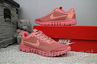 Кроссовки женские Classica G 7385 -3 розовые (текстиль, лето), фото 2