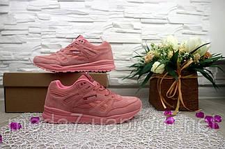 Кроссовки женские Classica G 7373 -1 розовые (замша, весна/осень), фото 3