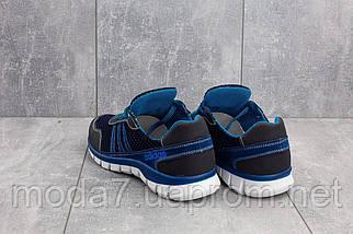 Кроссовки мужские CrosSAV 23 синие-голубые (текстиль, лето), фото 3