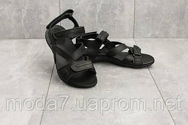 Босоножки женские StepWey 7561 черные (натуральная кожа, лето)