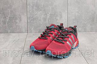 Кроссовки женские Classica G 3078 -2 красные (текстиль, весна/осень), фото 2