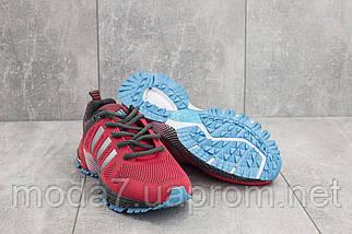 Кроссовки женские Classica G 3078 -2 красные (текстиль, весна/осень), фото 3