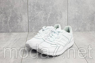 Кроссовки женские Classica G 3087 -1 белые (текстиль, весна/осень), фото 2