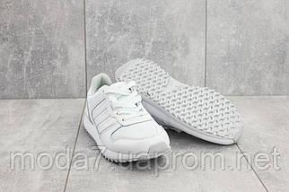 Кроссовки женские Classica G 3087 -1 белые (текстиль, весна/осень), фото 3