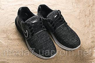Кроссовки мужские CrosSAV 41 черные (джинс, весна/осень), фото 2