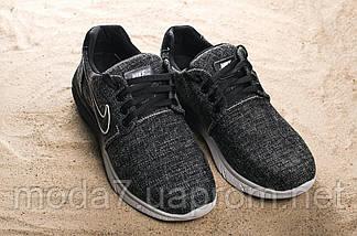 Кроссовки мужские CrosSAV 41 черные (джинс, весна/осень), фото 3