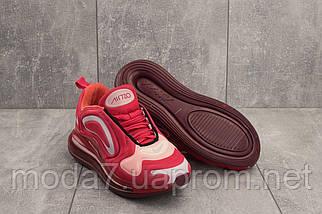 Кроссовки женские Ditof B 1154 -12 красные (текстиль, весна/осень), фото 2