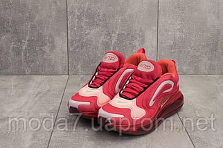 Кроссовки женские Ditof B 1154 -12 красные (текстиль, весна/осень), фото 3