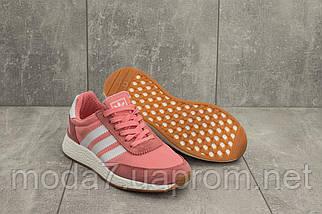 Кроссовки женские Classica G 3108 -2 розовые (текстиль, весна/осень), фото 3