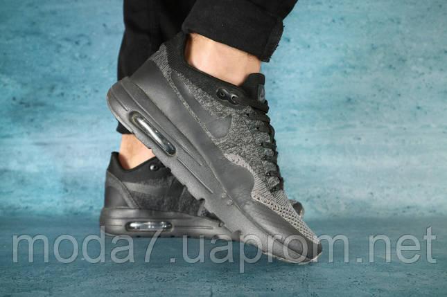 Кроссовки мужские Classica А 602 черные (текстиль, весна/осень), фото 2