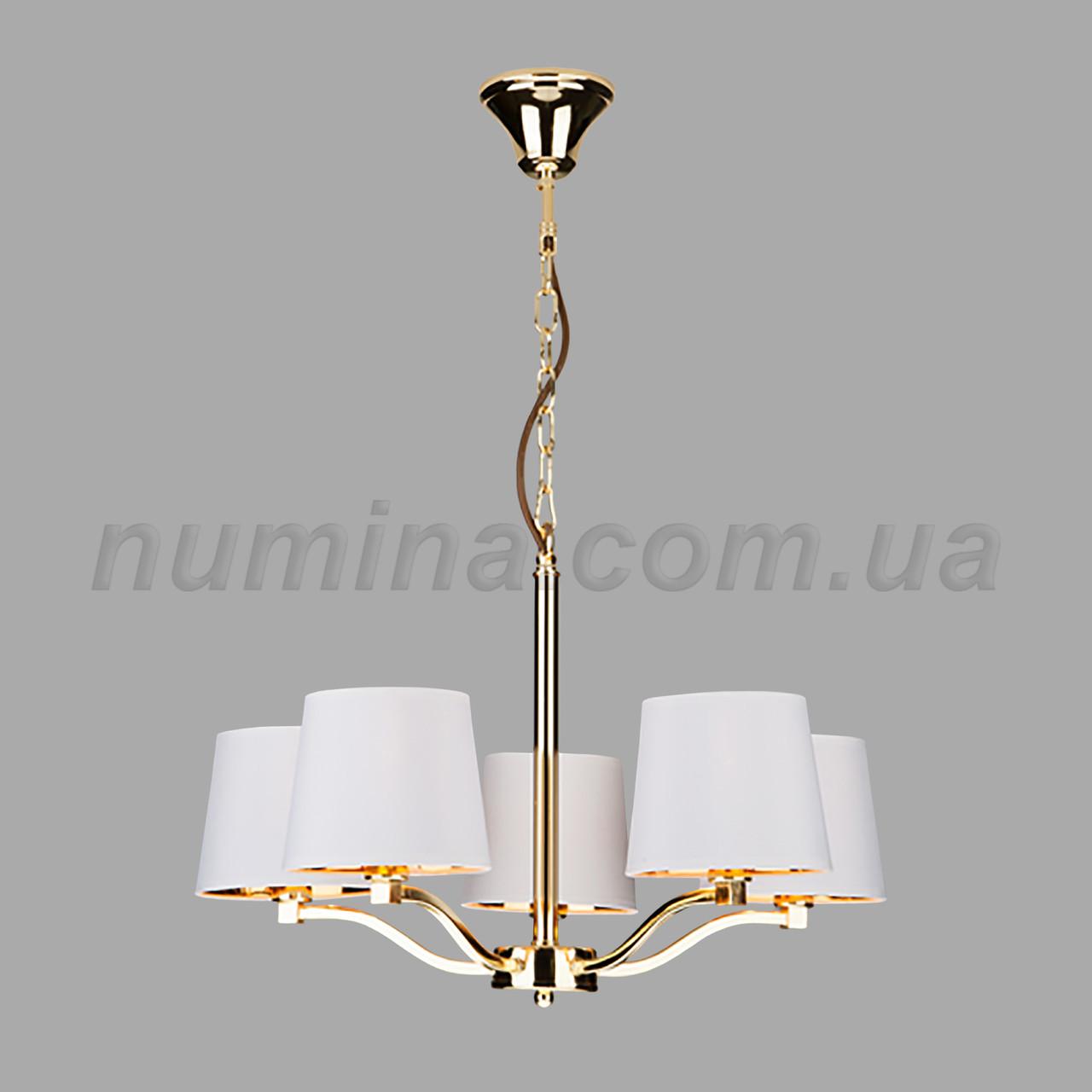 Люстра подвесная на пять ламп 29-3147/5 FGD+WT Е14