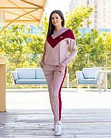 Велюровый спортивный костюм женский Размер 42 44 46 В наличии 2 цвета, фото 1