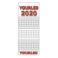 Квартальный календарь 2020 с индивидуальным дизайном