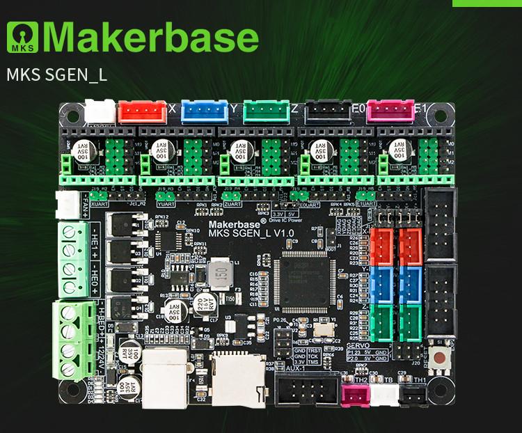 Плата управления MKS SGEN L MKS  для 3D-принтера 32 бит.