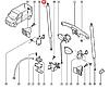 Амортизатор багажника на Renault Trafic 2001-> — AutoMega (Німеччина) - 100049710, фото 7