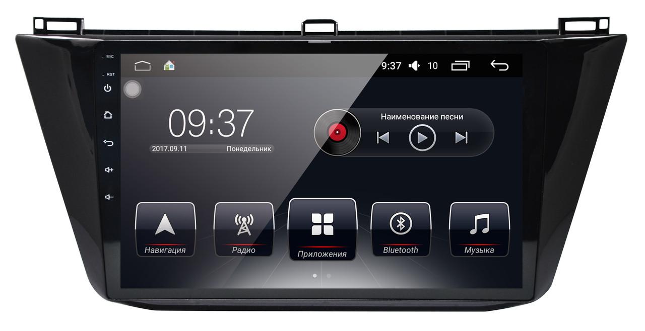 Штатная автомагнитола AudioSourceS T90-870A для VW Tiguan 2016+