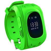 Детские телефон-часы с GPS трекером Smart Watch Q50 green