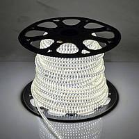 Уличная светодиодная лента 3528 120 диод./м 9,6 вт/м 220В холодный свет