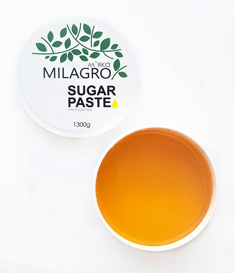 Сахарная паста для шугаринга Milagro Мягкая 1300 г (vol-157)