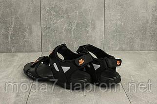 Босоножки мужские Best Vak Л2-01 черные (натуральная кожа, лето), фото 2