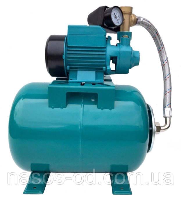 Насосная станция гидрофор Delta PKm60 для воды 0.37кВт Hmax35м Qmax35л/мин (вихревой насос) 24л (810060)