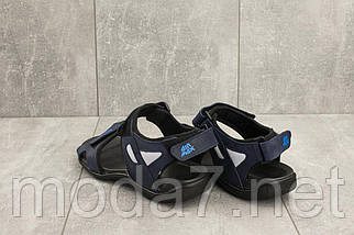 Босоножки мужские Best Vak Л2-03 синие (натуральная кожа, лето), фото 3