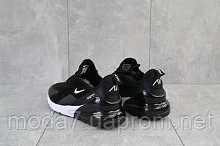 Кроссовки женские Classica 3121 -6 черные (искусственная кожа, весна/осень), фото 3