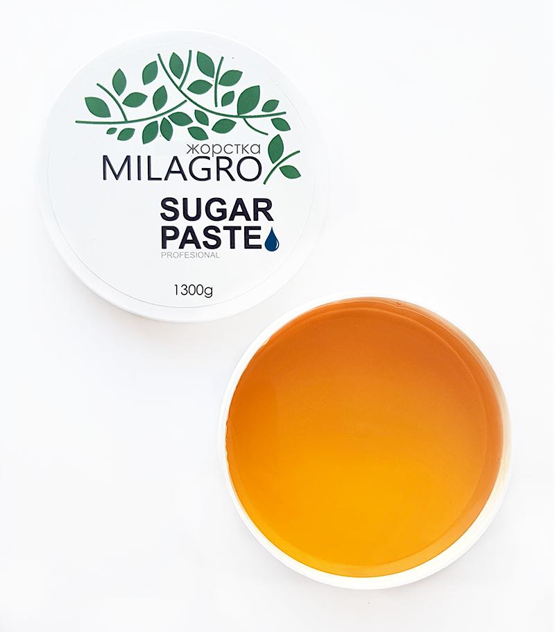 Сахарная паста для шугаринга Milagro Жесткая 1300 г (vol-169)
