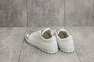 Кеды женские Best Vak 35 -702 белые (натуральная кожа, весна/осень), фото 2