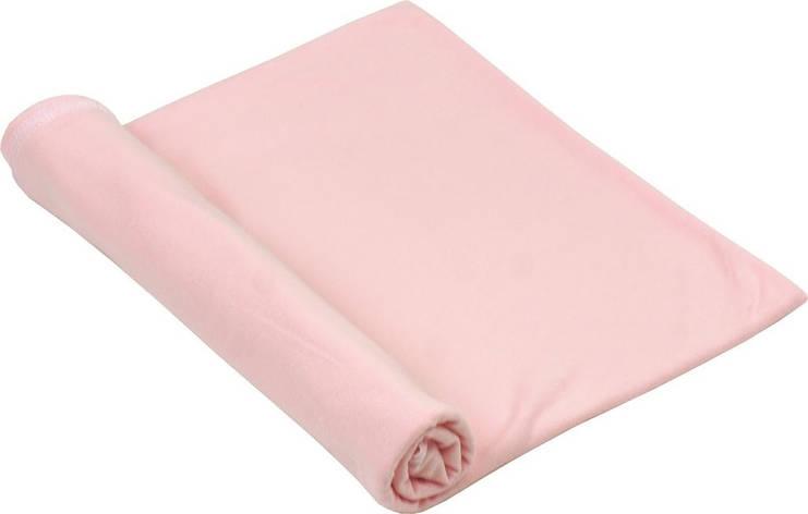 Пеленка трикотаж 90х110 Розовый, фото 2