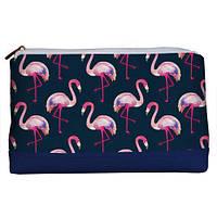 Косметичка дорожная женская «Lovely» Ночь фламинго