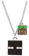 Медальон JINX Minecraft - Enchanted Enderman Necklace