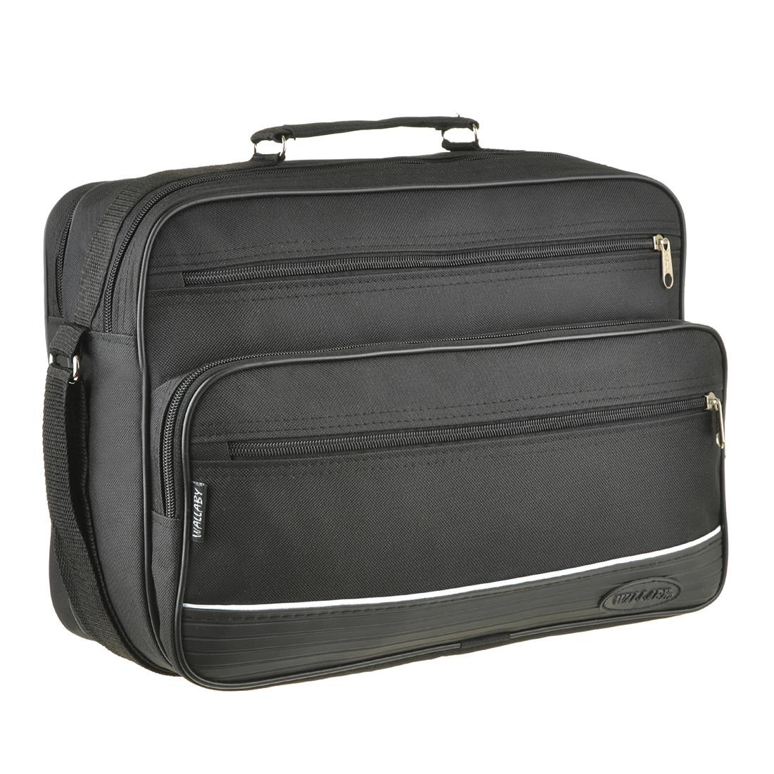 Мужская сумка Wallaby ткань полиестр с ПВХ 36х26х16  тканевая ручка в 2650