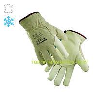 Перчатки Heron Winter утепленные, кожаные.