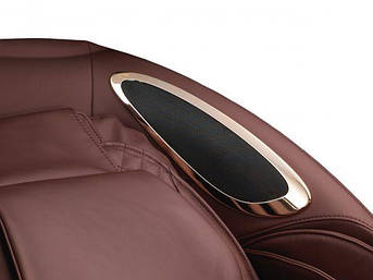 Массажное кресло Pilot II бордовый, фото 2