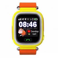 Детские телефон-часы с GPS трекером Smart Watch Q90 orange