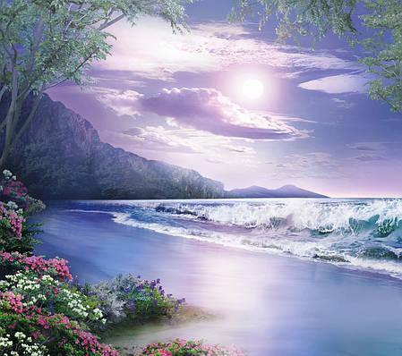 Фотообои,  небо, река, Ночная сказка, 12 листов, 196х210см, фото 2