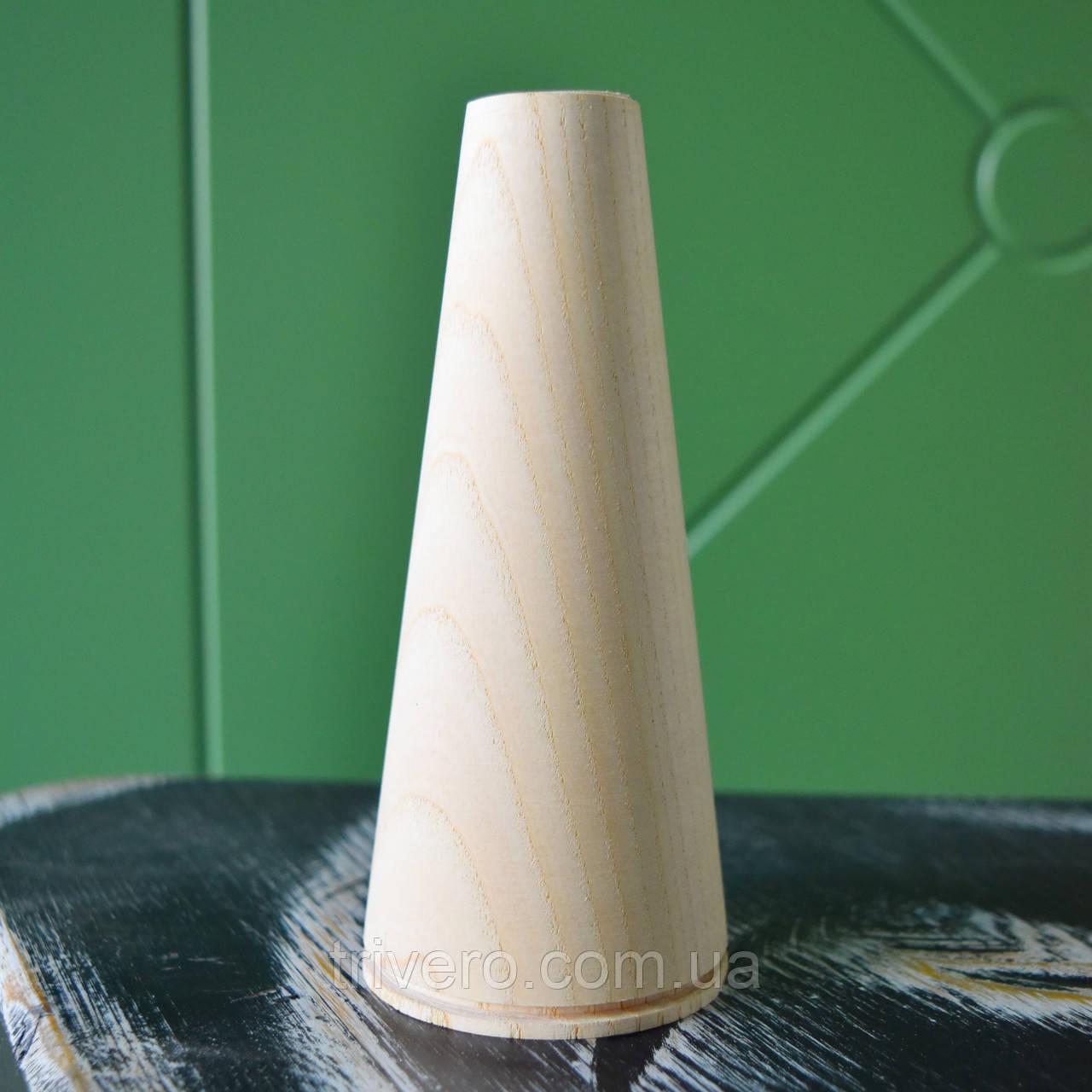 Деревянные ножки для мебели конусные H.100 - 600 D. 58-30