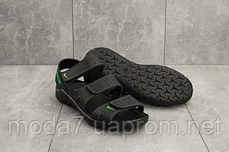Босоножки мужские Yuves C21 черные (натуральная кожа, лето), фото 2