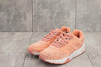Кроссовки женские L 1505 -18 (Baas) розовые (искусственная замша, весна/осень), фото 2