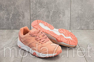 Кроссовки женские L 1505 -18 (Baas) розовые (искусственная замша, весна/осень), фото 3