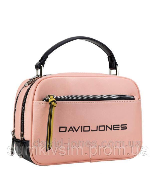 Клатч женский David Jones розовый