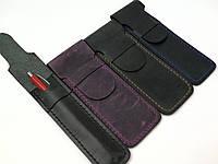 Кожаный чехол на ручку ручной работы Tsar.store цвета в ассортименте ручной шов