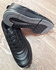 Кроссовки Bonote чёрные кожзам сезон осень/весна р.43, фото 5