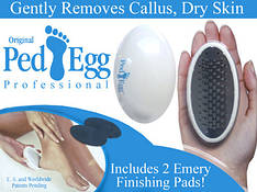 Пемза Ped Egg набор для ухода за ступнями 1248